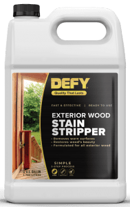 Defy Wood Stain Stripper